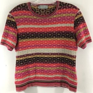 Missoni Short Sleeve Lightweight Sweater